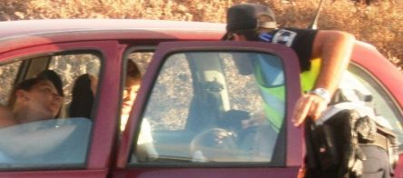 uso cinturón infantil coche