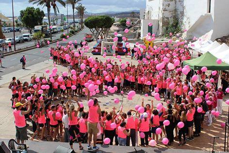 carrera contra cáncer de mama