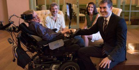 Stephen Hawking, Fernando Clavijo