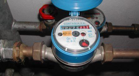 contador agua