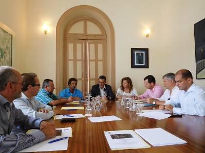 reunión Puertos Haría